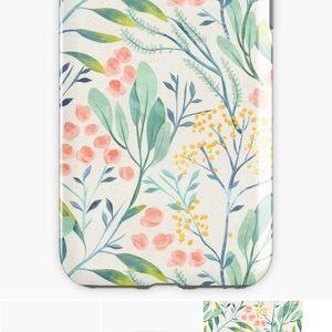 iPhone 7 case Botanical Garden NWT